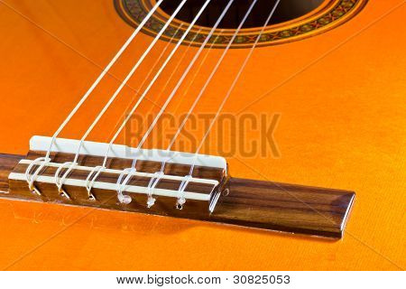 The Strings Of A Classical Guitar