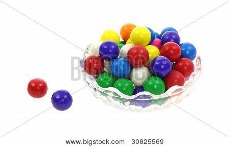 Colorful Bubble Gum Balls
