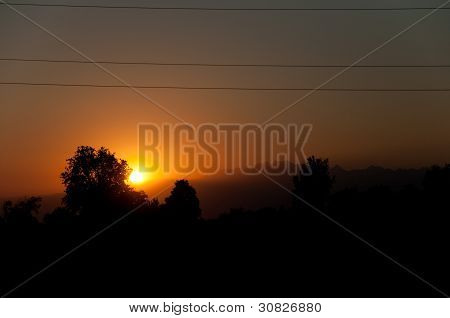 Italy - Udine - Sunset At Rive D Arcano