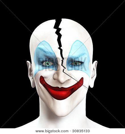 Split Apart Clown