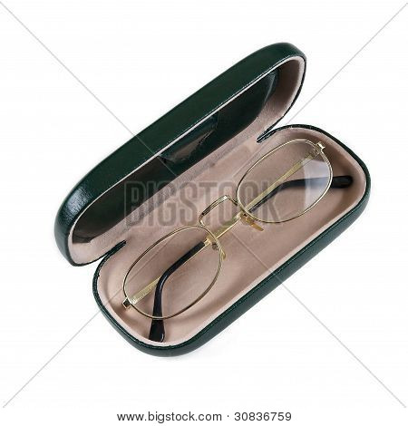 Glasses Into Case.