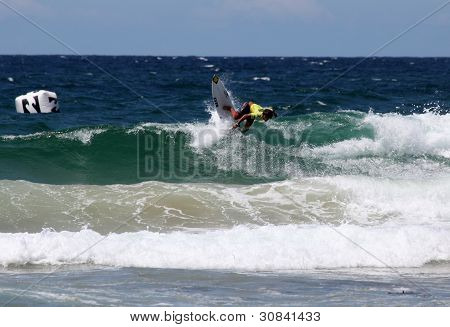 Professional Surfer - Austalian Open Manly