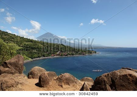 Bay in the village of Amed