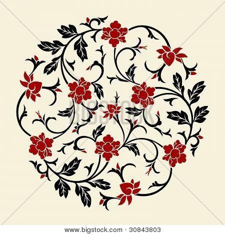 Vector Chinese Ornament