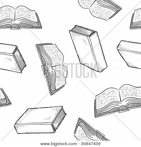 Fondo libro inconsútil