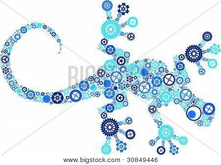 Cog Lizard
