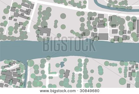 Figure And Ground Of Local City