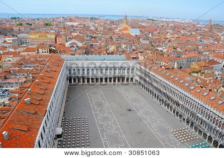 Aerial View To Venice