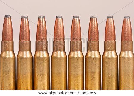 Top Part Of Rifle Bullets