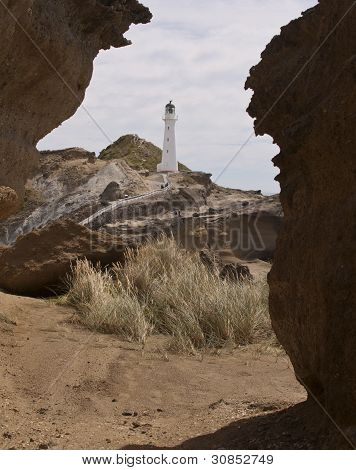 Castle Point Lighthouse - Wairarapa, New Zealand