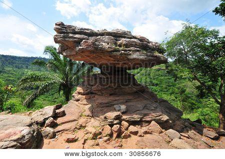 Umbrella Rock - Ghana