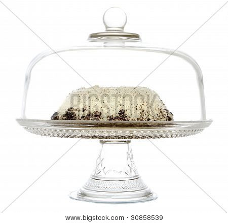 Cake On A Serving Platter