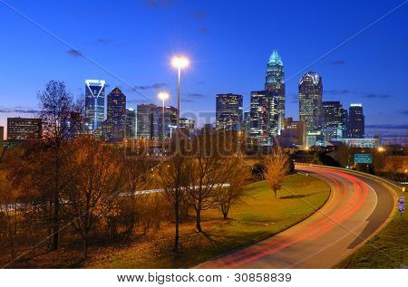 Uptown Charlotte, North Carolina