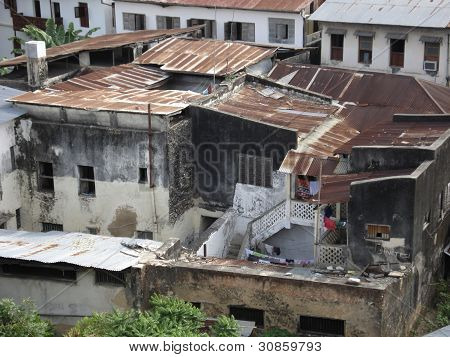 Slums In Stone Town