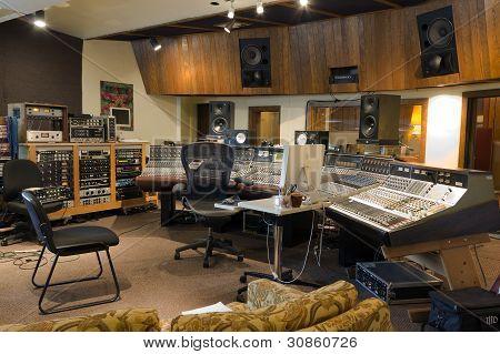 A recording studio