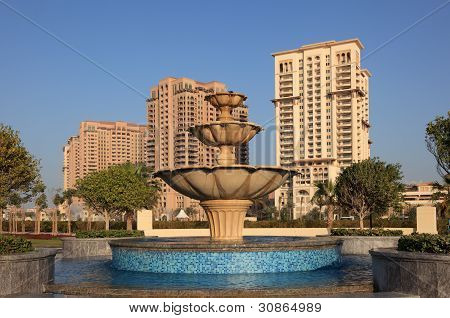 Fountain In Doha, Qatar