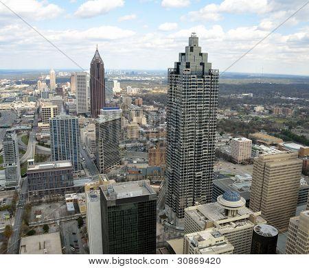 Vista aérea de Atlanta, Georgia