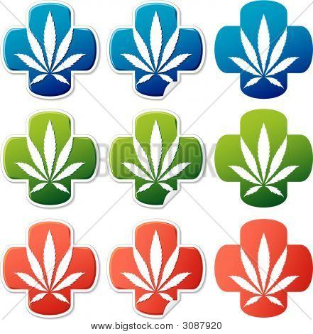 Medical Cannabis Sticker