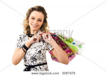 Lady With Bags