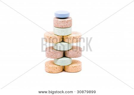 A Pyramid Of Vitamins