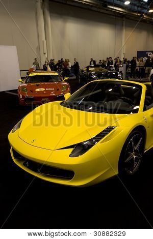 Yellow 458 Spider
