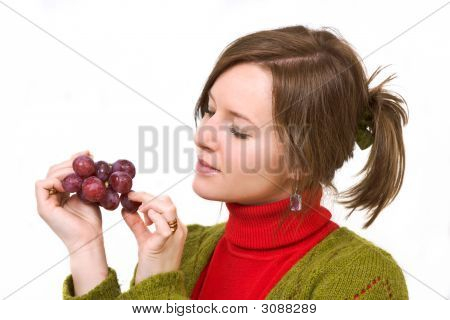 Grapes In The Palm