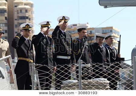 Turkish Warship Crew