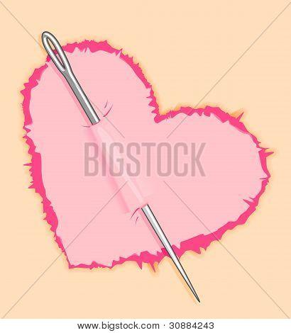 Needle In Heart
