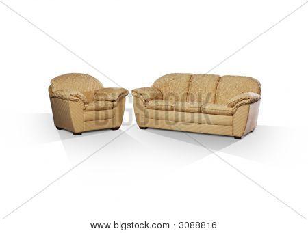 Sofa & Arm Chair