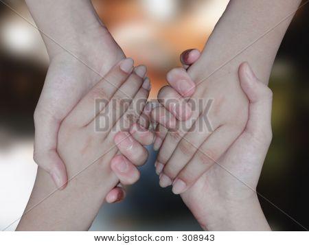Dauble Handshake