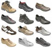 Постер, плакат: Большая коллекция Обувь спортивная