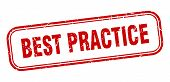 Best Practice Stamp. Best Practice Square Grunge Sign. Best Practice poster