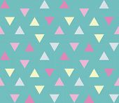 Seamless Geometric Pattern. Seamless Abstract Triangle Geometrical Background. Infinity Geometric Pa poster