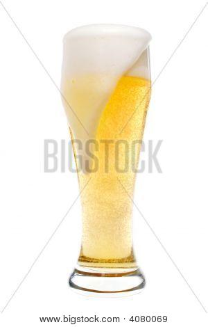 Foaming Beer