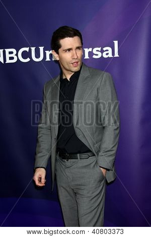 LOS ANGELES - JAN 7:  Sam Witwer attends the NBCUniversal 2013 TCA Winter Press Tour at Langham Huntington Hotel on January 7, 2013 in Pasadena, CA