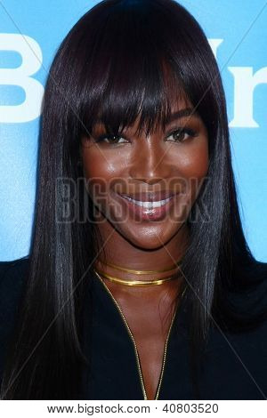 LOS ANGELES - JAN 7:  Naomi Campbell attends the NBCUniversal 2013 TCA Winter Press Tour at Langham Huntington Hotel on January 7, 2013 in Pasadena, CA