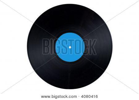 Vinyl Record Blue Label