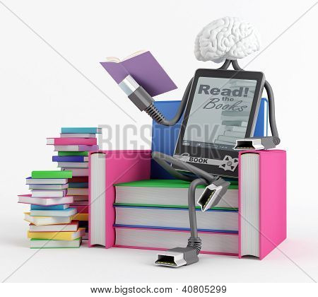 E-book Man In The Chair