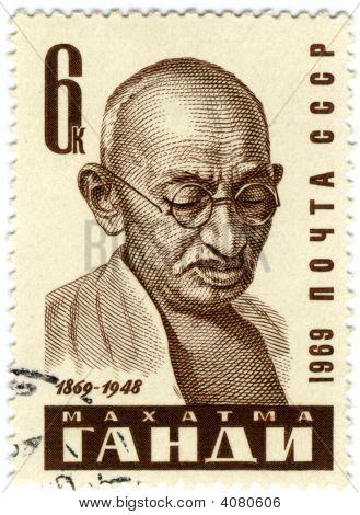 Mohandas Gandhi Postmark