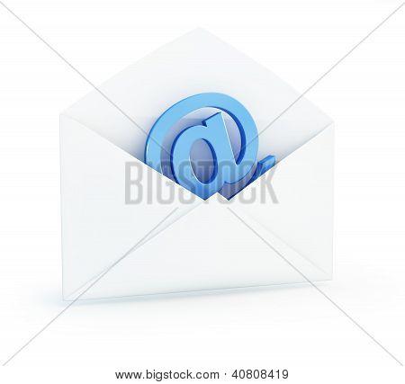 Sinal de E-mail correio