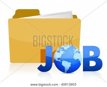 Folder Job Info