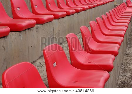 Seat grandstand