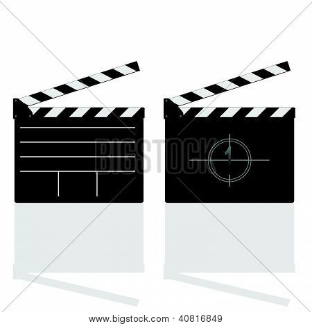 Film Damper Vector Illustration