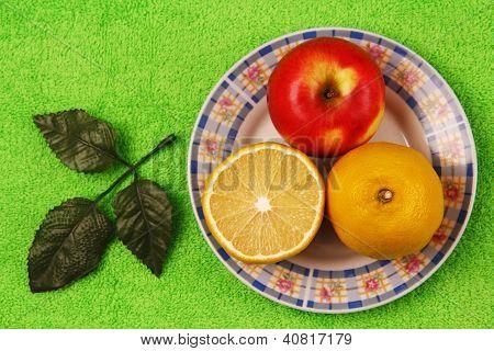 Lemon And Apple