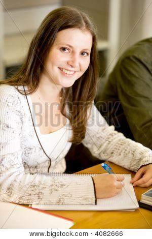 weibliche Studenten