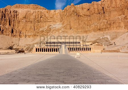 Hatshepsut's Temple In Luxor
