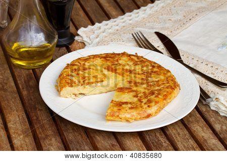 tortilla  - spanish omelette