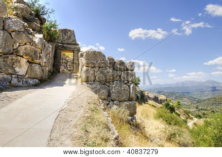 Mycenae Gate, Greece