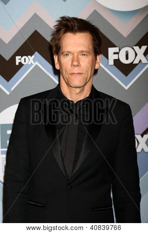 PASADENA, CA - JAN 8:  Kevin Bacon attends the FOX TV 2013 TCA Winter Press Tour at Langham Huntington Hotel on January 8, 2013 in Pasadena, CA