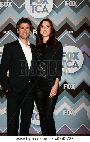 PASADENA, CA - JAN 8:  Kye Martino, Eva Amurri Martino attends the FOX TV 2013 TCA Winter Press Tour at Langham Huntington Hotel on January 8, 2013 in Pasadena, CA